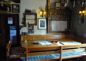 Wine Tasting Area at Weingut KHS