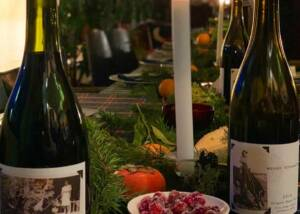 Beautiful dinner setting at Woven Wineworks