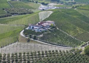 Aerial view of Azienda Agricola Pasquale Pelissero di Pelissero Ornella