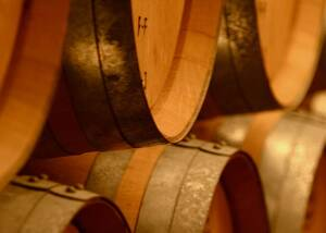 Barrels at Bodega Miguel Merino