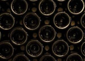 Wine Bottles of Castello di Montegiove