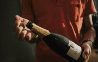 Entre Deux Monts Wine Bottle