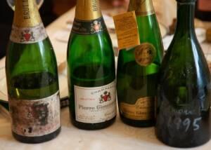 WIne Bottles of Kruger Rumpf