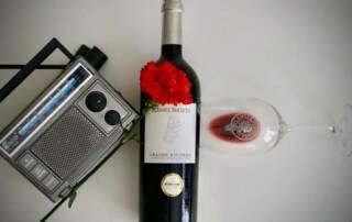 A Bottle of Quinta da Plansel Wine