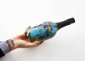 A Bottle of Tenuta Baron Wine