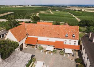 Aerial View of Estates of Weingut Schloss Janson