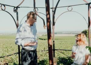 Winemakers of Weingut Schloss Janson Sharing Few Laughs Over A Glass of Weingut Schloss Janson