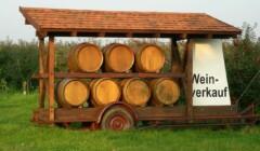 Barrels of Weinhaus Pfaffman