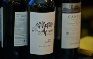 Wine Bottles of Vitis Metamorfosis