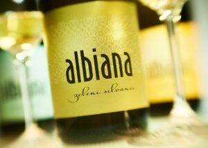 A Bottle of Albiana Estate - Vinska klet Žaren Wine