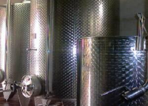 Steel Tanks of Azienda Agricola Criolin di Claudio Canavero