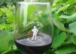 A Glass of Ghvardzelashvilis Marani Wine