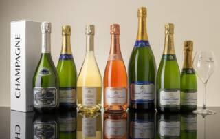 Champagne Daniel Dumont Wine Bottles