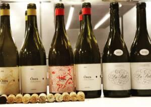 Celler Lagravera Wine Bottles