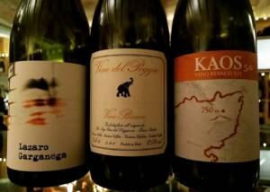 Wine Bottles of Vinci Vini Srl