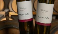 Bottles of Arman Marijan Wines
