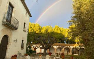 Rainbow over Cava Oriol Rossell