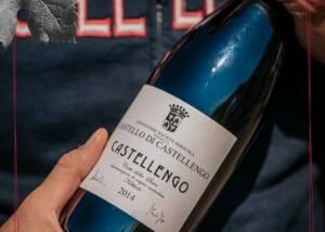 A Bottle of Centovigne - Castello Di Castellengo Wine
