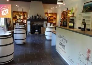 Wine Shop of Chateau Eugenie