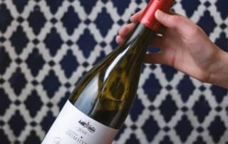 A Bottle of Chateau Oumsiyat