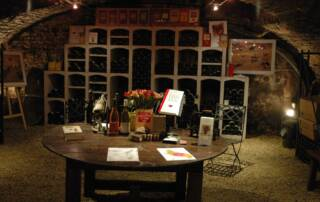 Cellars of Domaine Moissenet-Bonnard