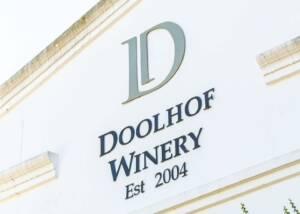 Building of Doolhof Wine Estate