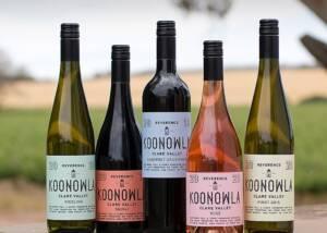 Bottles of Koonowla Wines