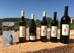 Bottles of Le Mas De Ronnel