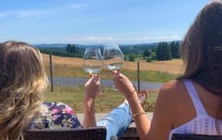 Enjoying Wines of Ruby Bay Vineyard