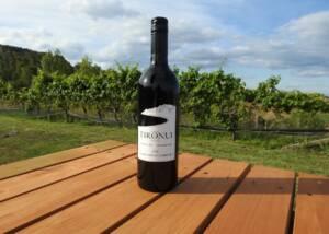 A Bottle of Tironui Estate Wine