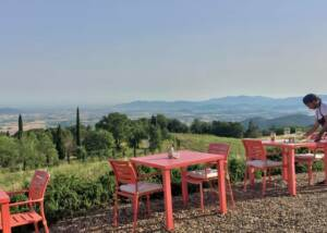 Wine Tasting Area in Valdonica Winery I Residence I Restaurant