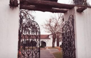 Entrance to Viña Undurraga