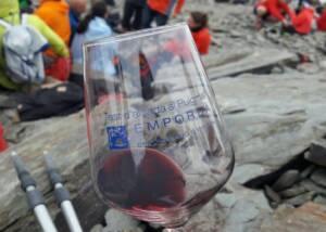 A Glass of Vinyes Dels Aspres Wine
